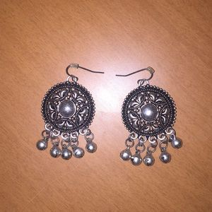 Jewelry - Silver bells earrings